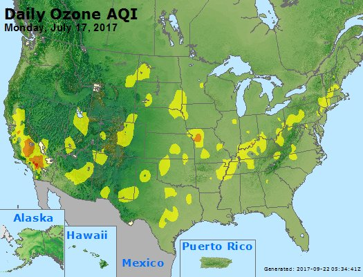 Peak Ozone (8-hour) - https://files.airnowtech.org/airnow/2017/20170717/peak_o3_usa.jpg