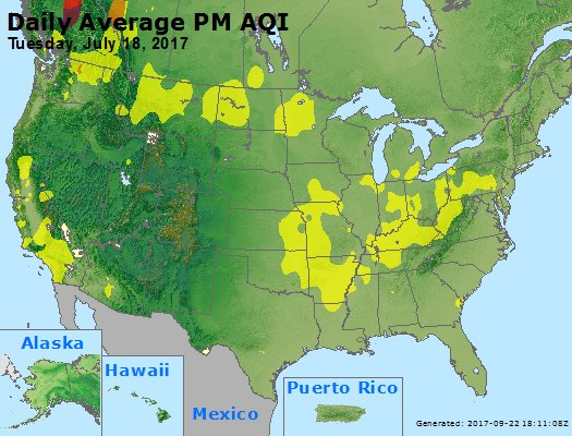 Peak Particles PM2.5 (24-hour) - https://files.airnowtech.org/airnow/2017/20170718/peak_pm25_usa.jpg