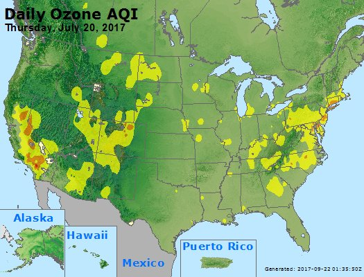 Peak Ozone (8-hour) - https://files.airnowtech.org/airnow/2017/20170720/peak_o3_usa.jpg