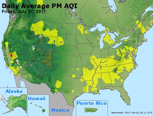 Peak Particles PM2.5 (24-hour) - https://files.airnowtech.org/airnow/2017/20170721/peak_pm25_usa.jpg