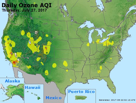 Peak Ozone (8-hour) - https://files.airnowtech.org/airnow/2017/20170727/peak_o3_usa.jpg