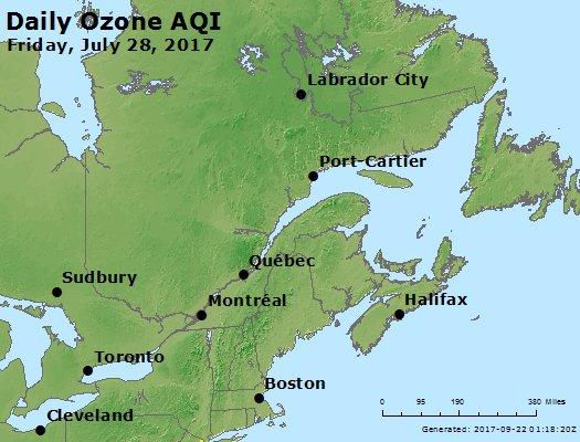 Peak Ozone (8-hour) - https://files.airnowtech.org/airnow/2017/20170728/peak_o3_eastern_canada.jpg