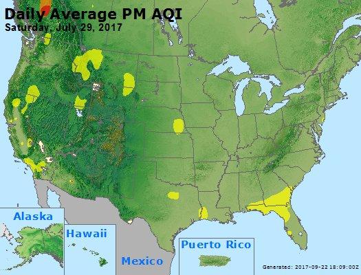 Peak Particles PM2.5 (24-hour) - https://files.airnowtech.org/airnow/2017/20170729/peak_pm25_usa.jpg
