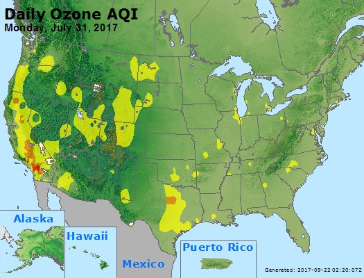 Peak Ozone (8-hour) - https://files.airnowtech.org/airnow/2017/20170731/peak_o3_usa.jpg