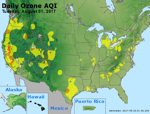 Peak Ozone (8-hour) - https://files.airnowtech.org/airnow/2017/20170801/peak_o3_usa.jpg