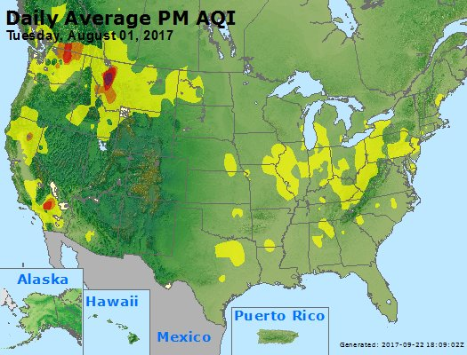 Peak Particles PM2.5 (24-hour) - https://files.airnowtech.org/airnow/2017/20170801/peak_pm25_usa.jpg