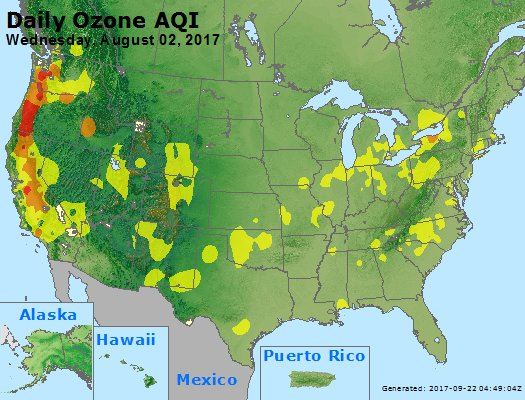 Peak Ozone (8-hour) - https://files.airnowtech.org/airnow/2017/20170802/peak_o3_usa.jpg
