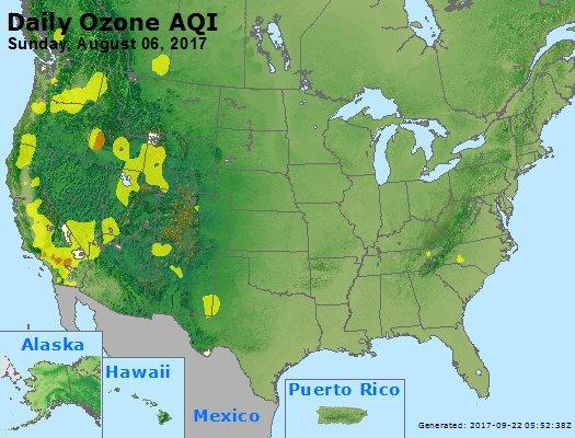 Peak Ozone (8-hour) - https://files.airnowtech.org/airnow/2017/20170806/peak_o3_usa.jpg