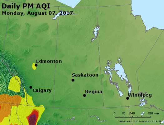 Peak Particles PM2.5 (24-hour) - https://files.airnowtech.org/airnow/2017/20170807/peak_pm25_central_canada.jpg