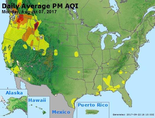 Peak Particles PM2.5 (24-hour) - https://files.airnowtech.org/airnow/2017/20170807/peak_pm25_usa.jpg