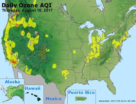 Peak Ozone (8-hour) - https://files.airnowtech.org/airnow/2017/20170810/peak_o3_usa.jpg