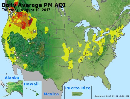 Peak Particles PM2.5 (24-hour) - https://files.airnowtech.org/airnow/2017/20170810/peak_pm25_usa.jpg