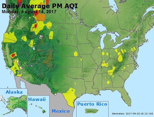 Peak Particles PM2.5 (24-hour) - https://files.airnowtech.org/airnow/2017/20170814/peak_pm25_usa.jpg