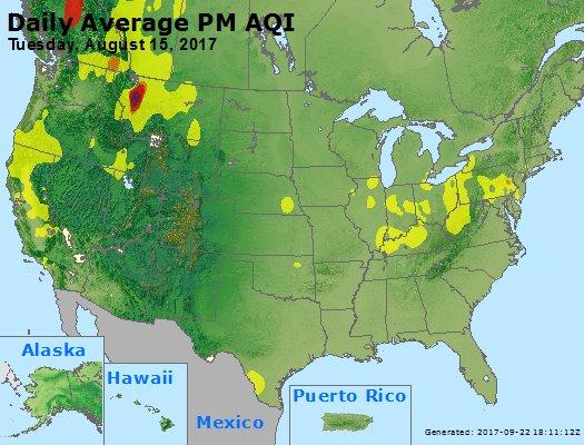 Peak Particles PM2.5 (24-hour) - https://files.airnowtech.org/airnow/2017/20170815/peak_pm25_usa.jpg