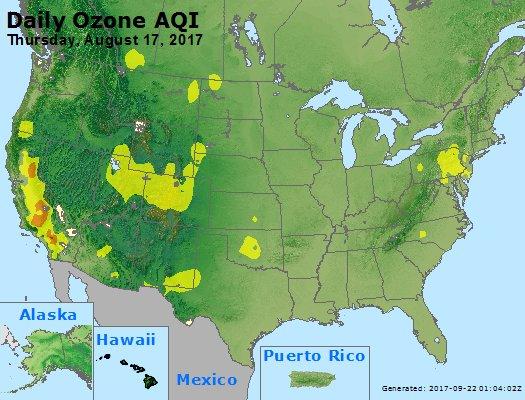 Peak Ozone (8-hour) - https://files.airnowtech.org/airnow/2017/20170817/peak_o3_usa.jpg