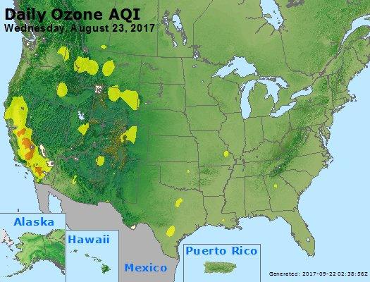Peak Ozone (8-hour) - https://files.airnowtech.org/airnow/2017/20170823/peak_o3_usa.jpg