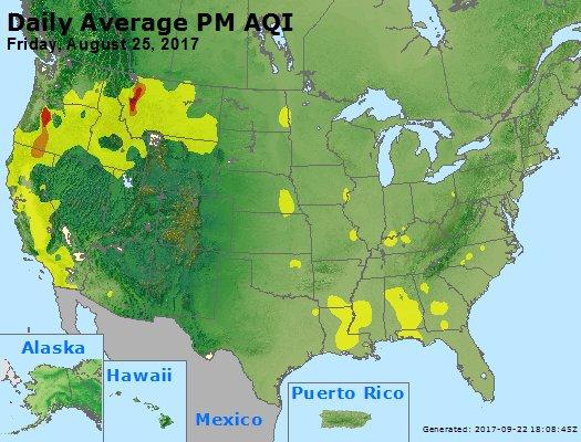 Peak Particles PM2.5 (24-hour) - https://files.airnowtech.org/airnow/2017/20170825/peak_pm25_usa.jpg