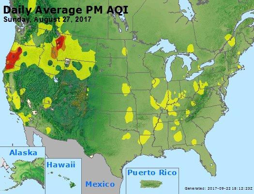 Peak Particles PM2.5 (24-hour) - https://files.airnowtech.org/airnow/2017/20170827/peak_pm25_usa.jpg