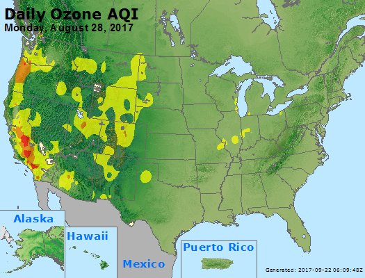 Peak Ozone (8-hour) - https://files.airnowtech.org/airnow/2017/20170828/peak_o3_usa.jpg