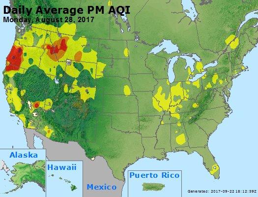Peak Particles PM2.5 (24-hour) - https://files.airnowtech.org/airnow/2017/20170828/peak_pm25_usa.jpg