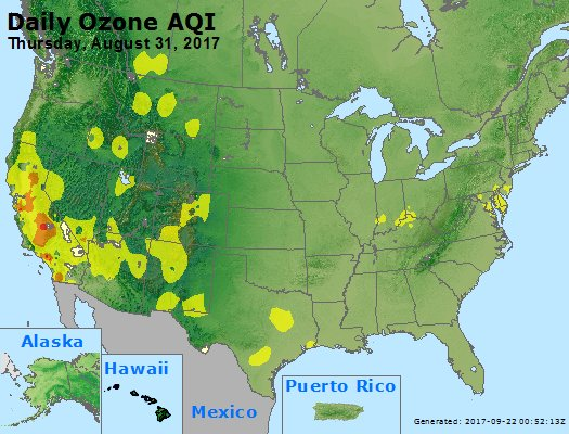Peak Ozone (8-hour) - https://files.airnowtech.org/airnow/2017/20170831/peak_o3_usa.jpg