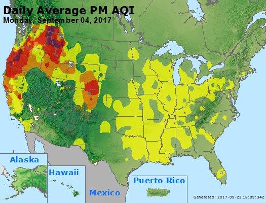 Peak Particles PM2.5 (24-hour) - https://files.airnowtech.org/airnow/2017/20170904/peak_pm25_usa.jpg
