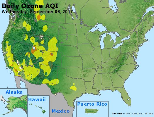 Peak Ozone (8-hour) - https://files.airnowtech.org/airnow/2017/20170906/peak_o3_usa.jpg