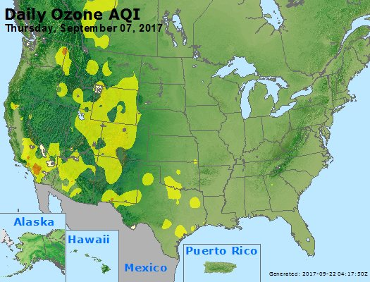 Peak Ozone (8-hour) - https://files.airnowtech.org/airnow/2017/20170907/peak_o3_usa.jpg