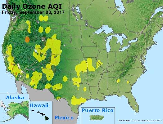 Peak Ozone (8-hour) - https://files.airnowtech.org/airnow/2017/20170908/peak_o3_usa.jpg