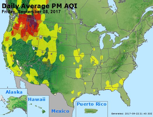 Peak Particles PM2.5 (24-hour) - https://files.airnowtech.org/airnow/2017/20170908/peak_pm25_usa.jpg