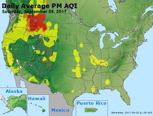 Peak Particles PM2.5 (24-hour) - https://files.airnowtech.org/airnow/2017/20170909/peak_pm25_usa.jpg