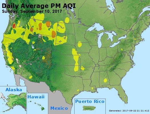 Peak Particles PM2.5 (24-hour) - https://files.airnowtech.org/airnow/2017/20170910/peak_pm25_usa.jpg