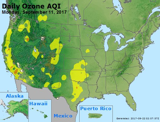 Peak Ozone (8-hour) - https://files.airnowtech.org/airnow/2017/20170911/peak_o3_usa.jpg