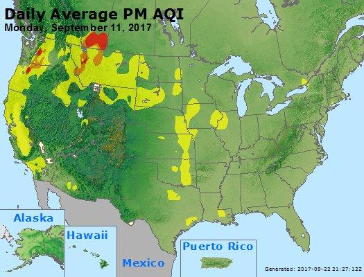 Peak Particles PM2.5 (24-hour) - https://files.airnowtech.org/airnow/2017/20170911/peak_pm25_usa.jpg