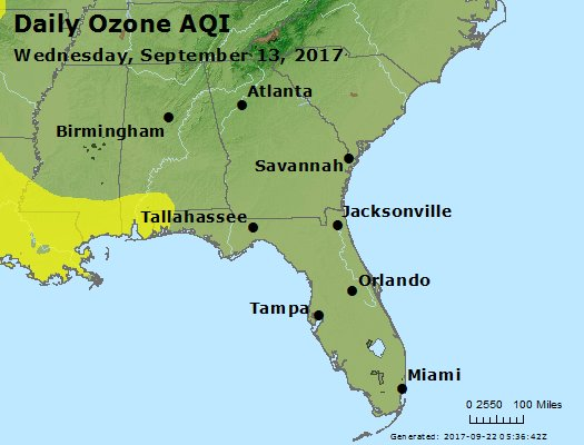 Peak Ozone (8-hour) - https://files.airnowtech.org/airnow/2017/20170913/peak_o3_al_ga_fl.jpg