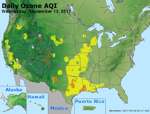 Peak Ozone (8-hour) - https://files.airnowtech.org/airnow/2017/20170913/peak_o3_usa.jpg