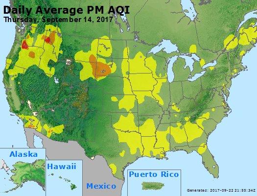 Peak Particles PM2.5 (24-hour) - https://files.airnowtech.org/airnow/2017/20170914/peak_pm25_usa.jpg