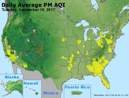 Peak Particles PM2.5 (24-hour) - https://files.airnowtech.org/airnow/2017/20170919/peak_pm25_usa.jpg