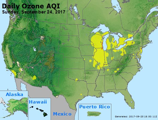Peak Ozone (8-hour) - https://files.airnowtech.org/airnow/2017/20170924/peak_o3_usa.jpg