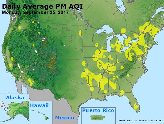Peak Particles PM2.5 (24-hour) - https://files.airnowtech.org/airnow/2017/20170925/peak_pm25_usa.jpg