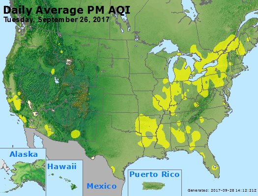 Peak Particles PM2.5 (24-hour) - https://files.airnowtech.org/airnow/2017/20170926/peak_pm25_usa.jpg