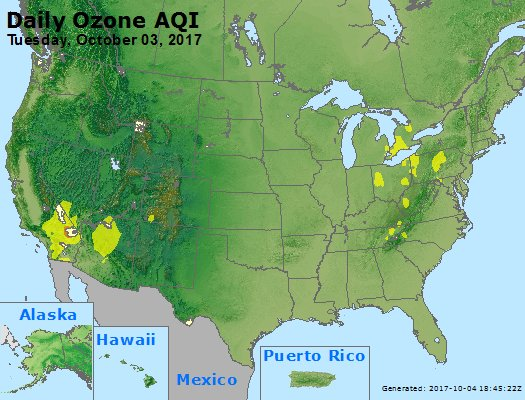 Peak Ozone (8-hour) - https://files.airnowtech.org/airnow/2017/20171003/peak_o3_usa.jpg