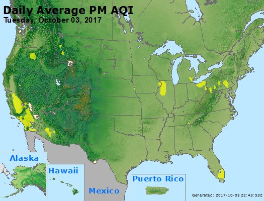 Peak Particles PM2.5 (24-hour) - https://files.airnowtech.org/airnow/2017/20171003/peak_pm25_usa.jpg