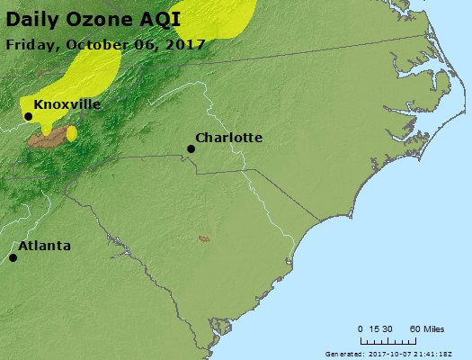 Peak Ozone (8-hour) - https://files.airnowtech.org/airnow/2017/20171006/peak_o3_nc_sc.jpg