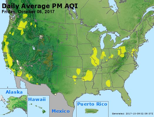Peak Particles PM2.5 (24-hour) - https://files.airnowtech.org/airnow/2017/20171006/peak_pm25_usa.jpg