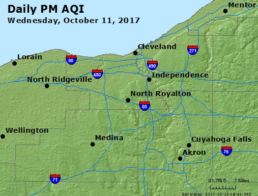Peak Particles PM2.5 (24-hour) - https://files.airnowtech.org/airnow/2017/20171011/peak_pm25_cleveland_oh.jpg
