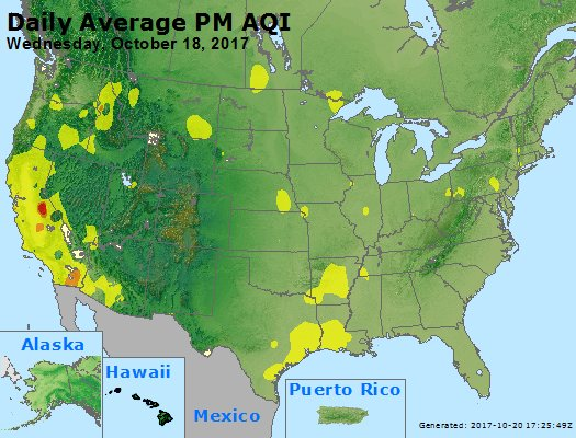 Peak Particles PM2.5 (24-hour) - https://files.airnowtech.org/airnow/2017/20171018/peak_pm25_usa.jpg