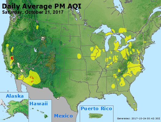 Peak Particles PM2.5 (24-hour) - https://files.airnowtech.org/airnow/2017/20171021/peak_pm25_usa.jpg