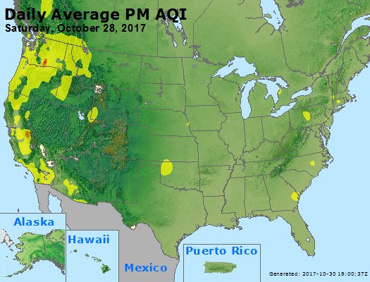 Peak Particles PM2.5 (24-hour) - https://files.airnowtech.org/airnow/2017/20171028/peak_pm25_usa.jpg