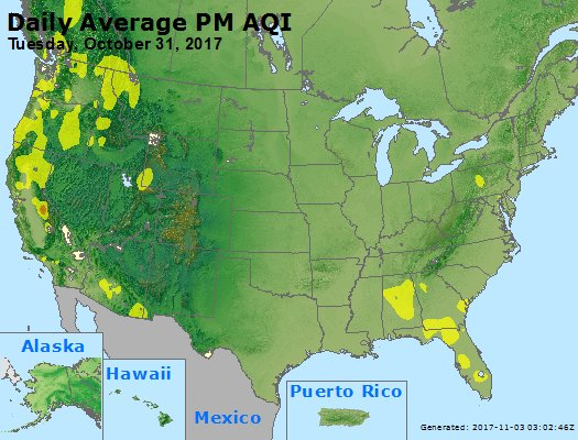 Peak Particles PM2.5 (24-hour) - https://files.airnowtech.org/airnow/2017/20171031/peak_pm25_usa.jpg